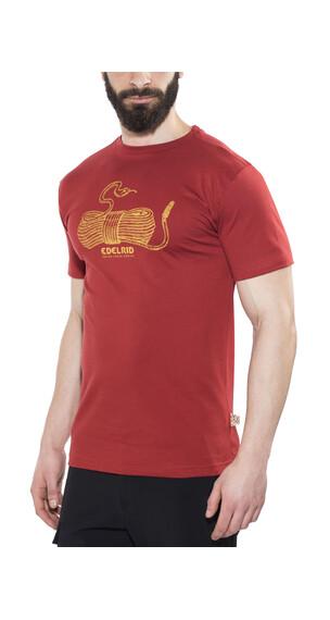 Edelrid Highball T-Shirt Men Vine Red